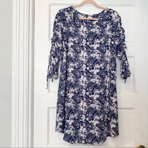 Mossimo | Blue, Pink, and White Floral Dress